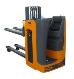Transpalette électrique porté assis-debout OMG 2000 kg