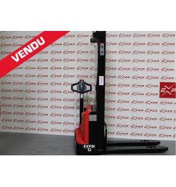 Gerbeur électrique accompagnant EP 1200 kg