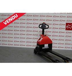 Transpalette électrique accompagnant EP 1500 kg