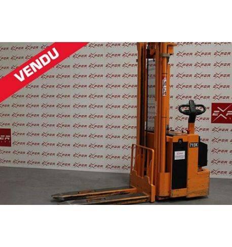 Gerbeur électrique accompagnant OMG 1500 kg