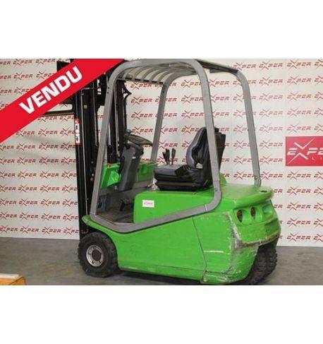 BLITZ 315 ac - Chariot élévateur frontal électrique CEZAB 1500kg