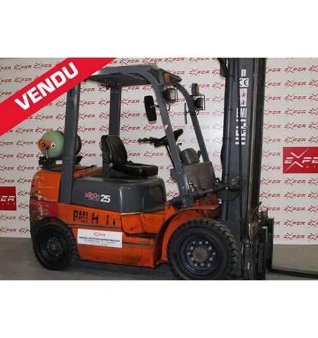 CPYD25 - Chariot élévateur gaz HELI 2500 kg