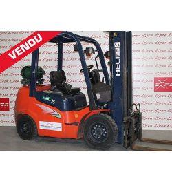 Chariot élévateur gaz d'occasion HELI 2500 kg - GLEEN 25