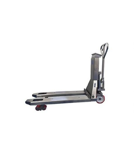 Transpalette manuel peseur inox BADA 2000 kg - TMB-20
