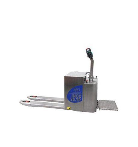 Transpalette électrique inox porté BADA 2000 kg - 20-TP