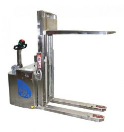 Transpalette électrique inox levée initiale BADA 2000 kg