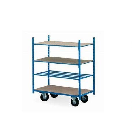 Chariot polyvalent 4 niveaux