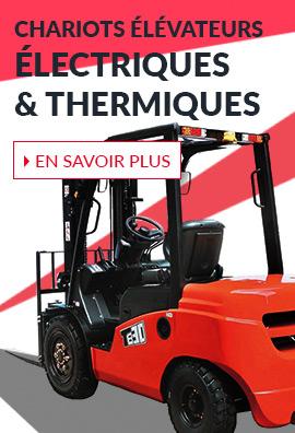 chariots thermiques électriques