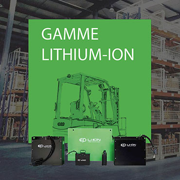 Gamme Lithum-Ion