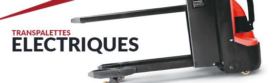 transpalettes électriques